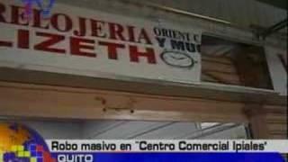 Robo masivo en Centro Comercial Ipiales
