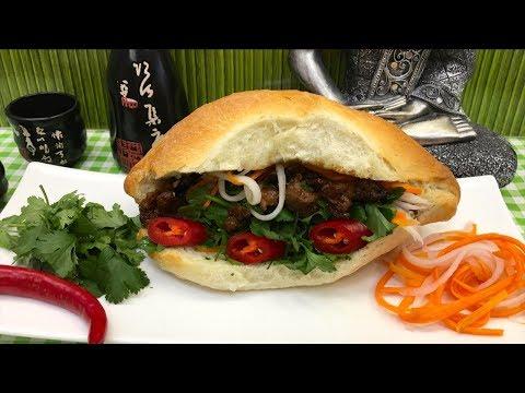 Banh mi – vietnamská plněná bageta vč recept na domácí…