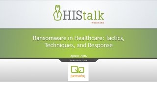 Ransomware in Healthcare: Tactics, Techniques, and Response