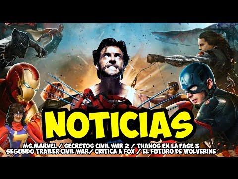 Noticias - Civil War 2, X-Men Apocalypse, El futuro de Wolverine en Fox l Strip Marvel