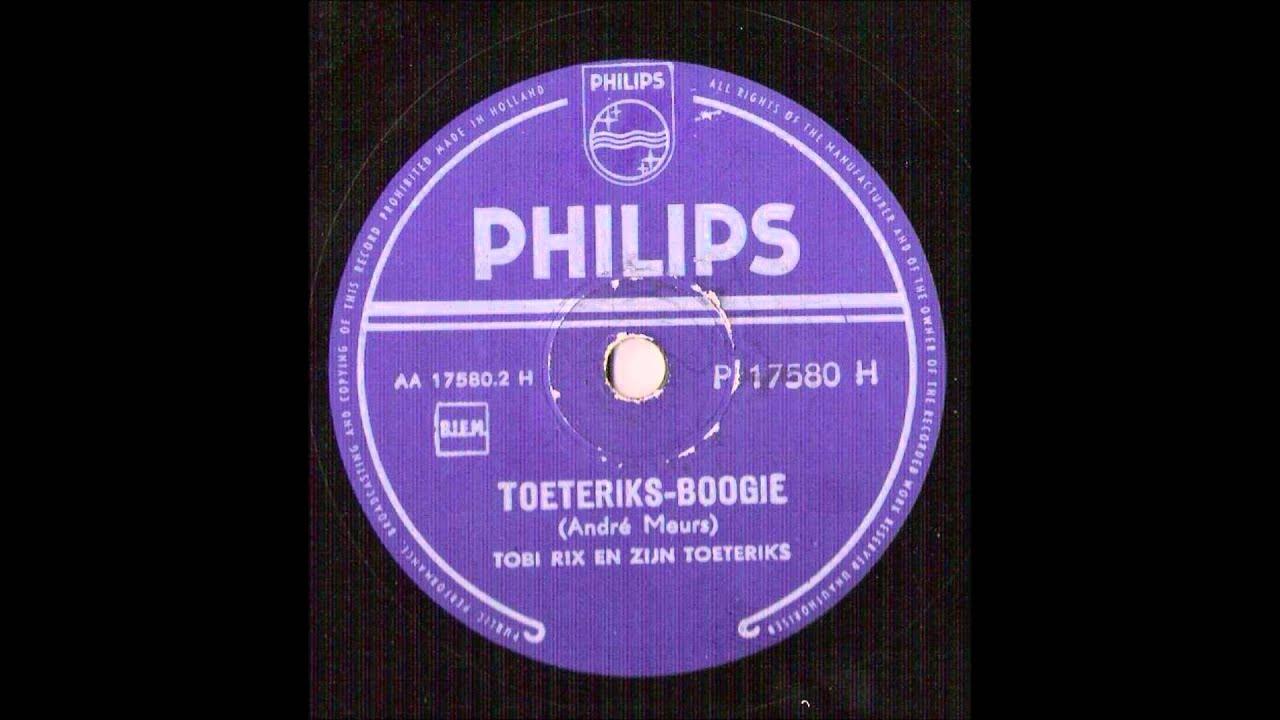 tobi rix toeteriks boogie vinyl 78 rpm1956 youtube