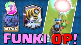 CLASH ROYALE [068] ★ FUNKI OP!!!! + FREE SUPER MAGICAL CHEST OPENING  ★ Let's Play Clash Royale