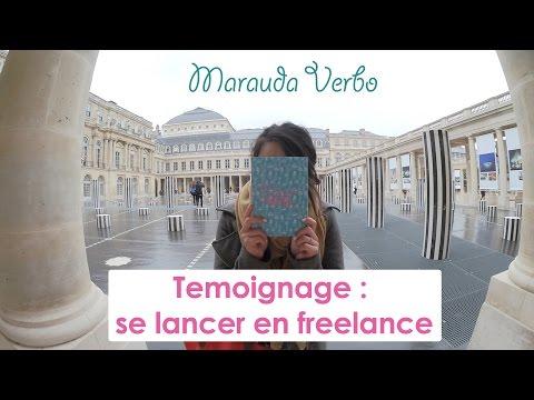 Se lancer en freelance : M-1 pour Maeva