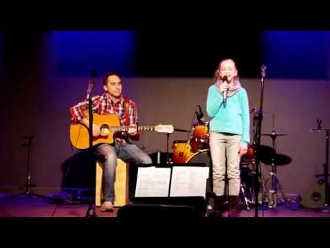 Kenna singing All I Need by Bethany Dillon