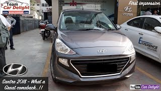 New Santro 2018 Top Model Asta Review and First Impression   New Santro 2018