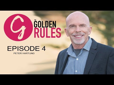 Peter Hartung, Never, ever -ever give up  | #thegoldenrules 4