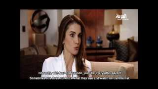 Queen Rania Interview with Al Arabiya - Part 6 (English Subtitles)