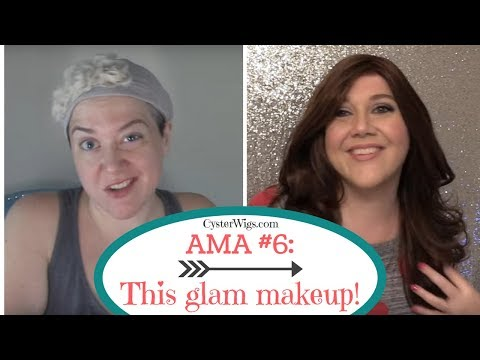 """My full """"Nude Glam"""" makeup routine 💋BY POPULAR REQUEST!  😘 CysterWigs AMA #6"""