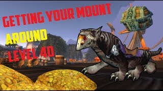 Classic WoW: Getting Your Mount As Soon as Possible!