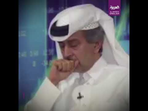Top Qatar investor breaks down in tears while discussing economy