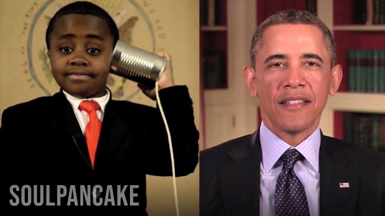 President Obama Sends Kid President A Message Youtube