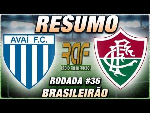 AvaíFC x Fluminense Ao Vivo l Campeonato brasileiro