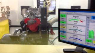 Chevy 283 on the Dyno