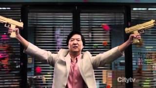 Senor Chang Paintball Scene