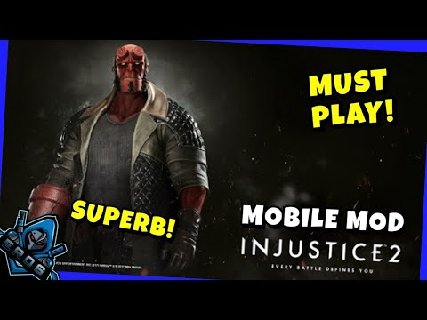 INJUSTICE 2 Mobile Gameplay | MOD APK + DATA | Download FREE For ANDROID 2020 | Tagalog Tutorial