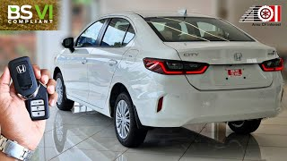 2020 Honda City BS6 V Base Model (5th Gen)   On Road Price List   Mileage   Features   Specs
