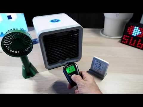 Mini Desk ''AirCondition'' Arctic Air Personal Cooler (+ Temp Test)