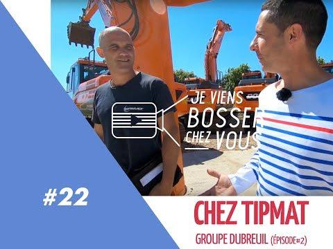 Moi Technicien En Matériel TP Chez TIPMAT (GROUPE DUBREUIL) #2 Jeviensbosserchezvous©