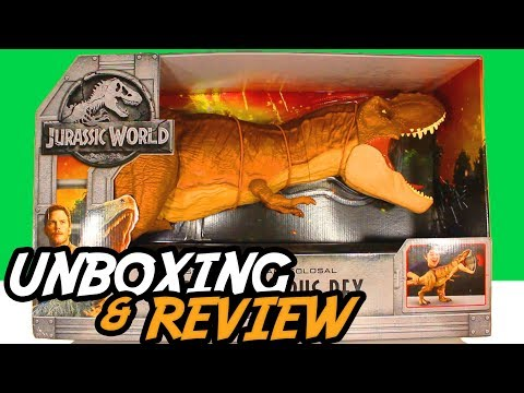 FALLEN KINGDOM | Super COLOSSAL T.REX | UNBOXING & REVIEW