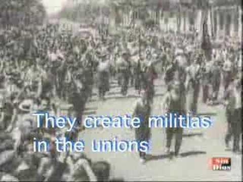 1936 - Spanish anarchist song w/English subtitles