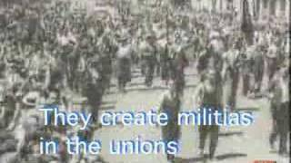 1936 - Spanish anarchist song w/English subtitles