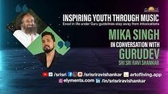 Mika Singh in conversation with Gurudev Sri Sri Ravi Shankar | Live Meditation