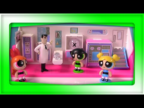 Power Puff Girls Disk Drop Game Toy Surprise Boxes