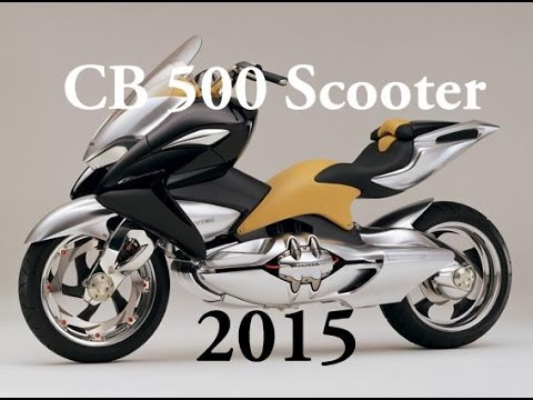 New Honda Cb 500 Scooter 2015 Youtube