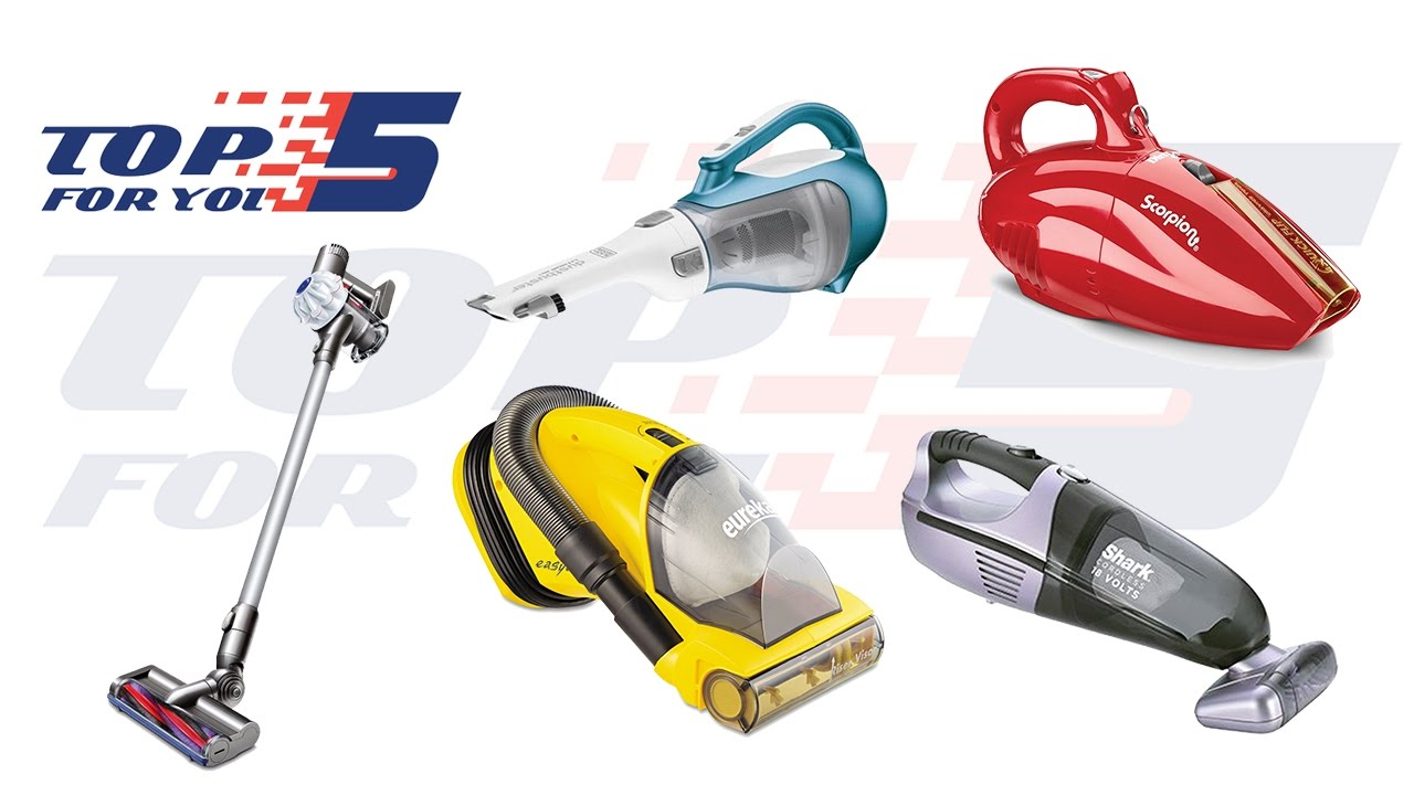 26c22989aa4 Top 5 Best Handheld Vacuums For Home Use 2017- 2018 - YouTube