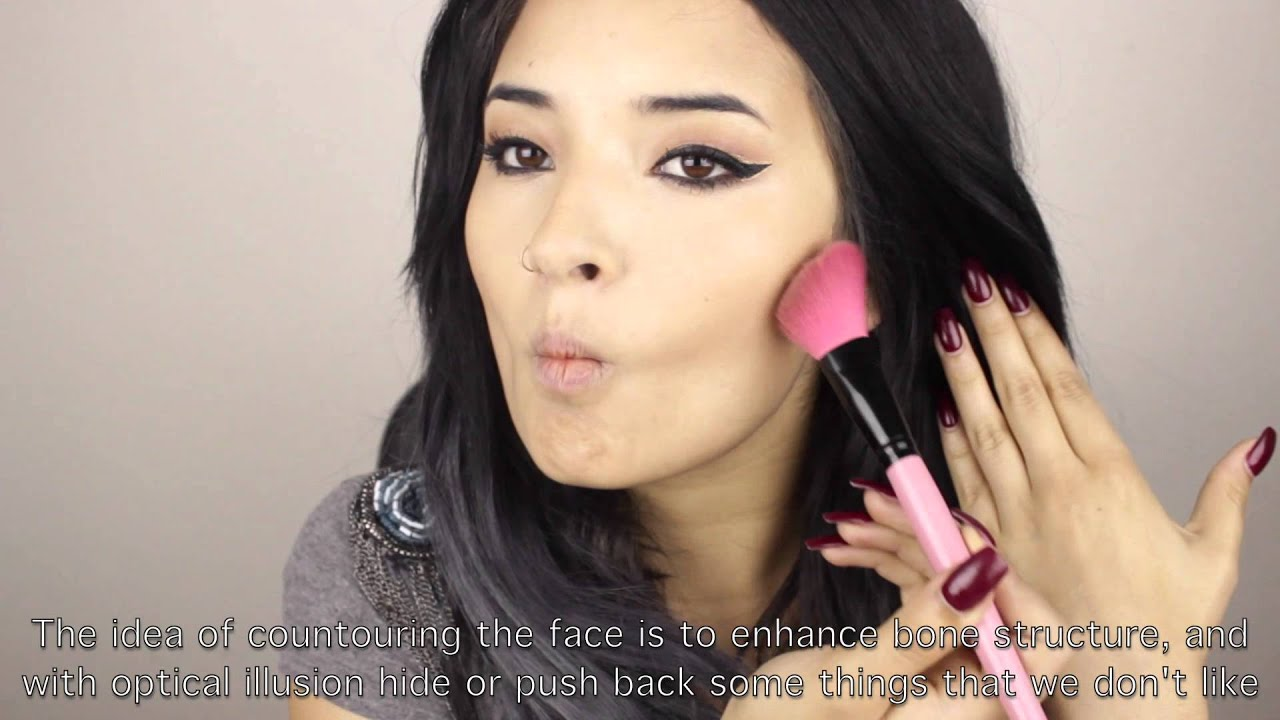 Como adelgazar la cara con maquillaje paso a paso para