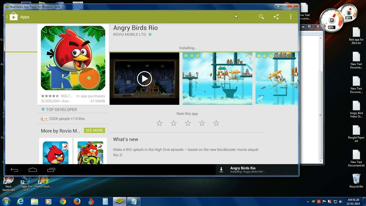 how to install angry bird rio 2 game in pc 2014 free (windows/mac