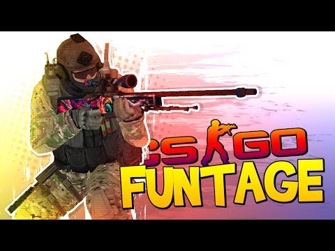 CS:GO FUNTAGE! - NEW SOUNDS, Epic Fails & BYZE's Keyboard!