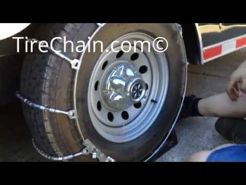 TireChain.com Truck/SUV Cable Tire Chains Installation