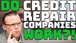 Do Credit Repair Companies Work?