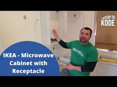 IKEA - Microwave Cabinet With Receptacle