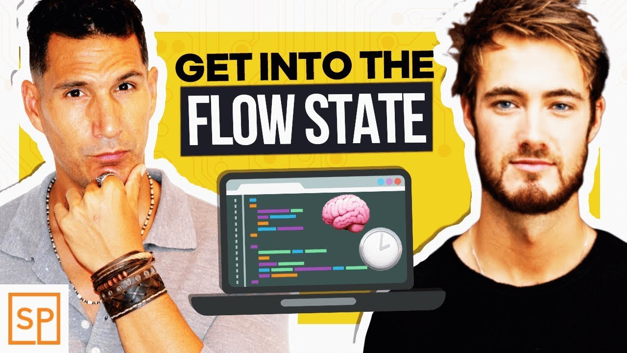Get Into The Flow how to get into flow state �� | become a productive beast!
