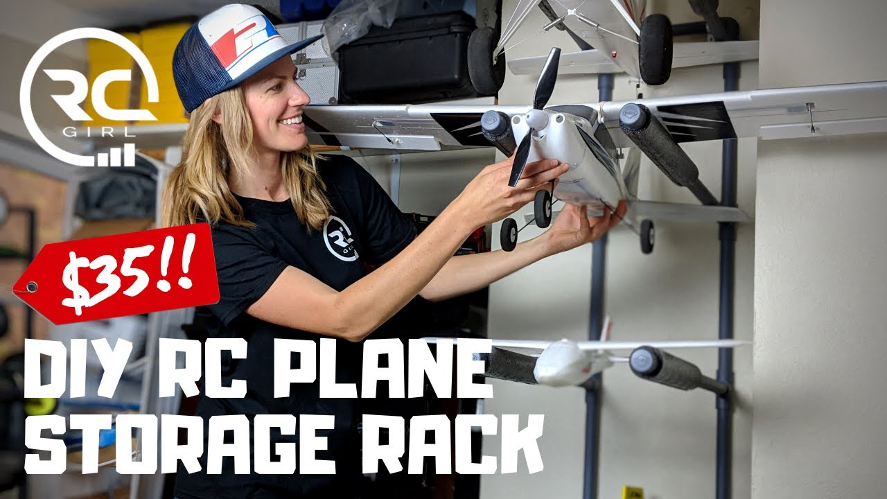 How To Build A Diy Rc Plane Storage Rack For 35 Youtube