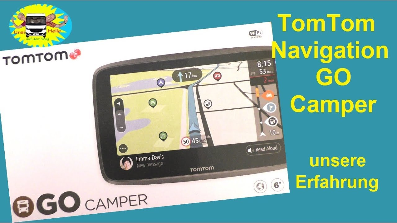 tomtom go camper 620 womo navi im test 80 youtube. Black Bedroom Furniture Sets. Home Design Ideas