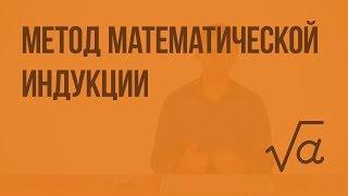 Метод математической индукции. Видеоурок по алгебре 9 класс
