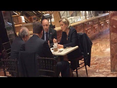 De passage à la Trump Tower, Marine Le Pen n'a pas rencontré Trump