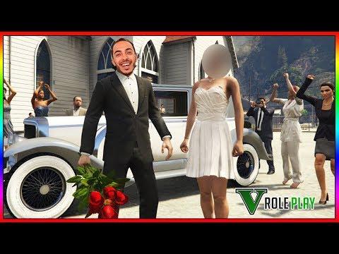 [🔴LIVE] J'INVITE MA COPINE AU RESTAURANT ... JE LA DEMANDE EN MARIAGE !  GTA 5 RP !