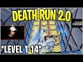 Cizzorz Reveals *COMPLETED* DEATH RUN 2.0! (lvl.1 - lvl.14) *INSANE*