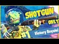 SHOTGUN ONLY CHALLENGE!! - FORTNITE BATTLE ROYALE!!