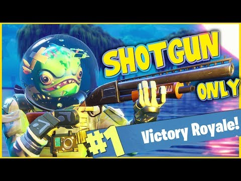 shotgun only challenge fortnite battle royale Лучшие приколы
