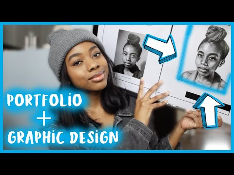 DESIGN PORTFOLIO TOUR + My Graphic Design Projects