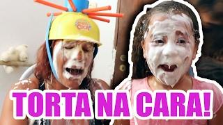 TORTA NA CARA E MOLHA CUCA - DESAFIO - MAIOR TORTADA DO MUNDO!