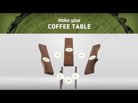 Live Edge Timber Co. / DIY Coffee Table