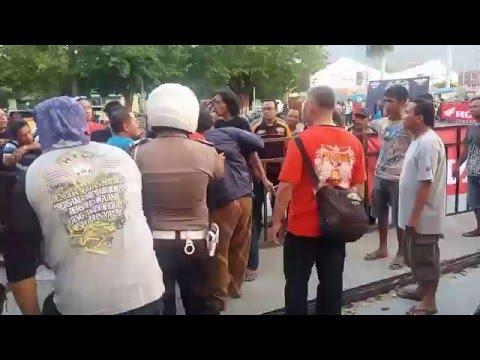 Kericuhan Acara GTC Gorontalo Tiger Club