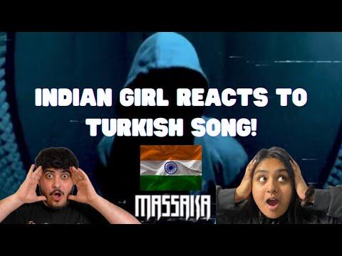Indian Girl Reacts to -Massaka – Alfa (Official video) Reaction Turkish Rap
