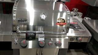 Weber Genesis II S-335, E-315, E-310 Gas Grill Comparison Review